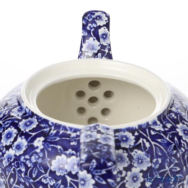 Burleigh Pottery 'Blue Calico' Tea Pot 800ml (L)