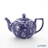 Burleigh Blue Calico Tea Pot (L) 800cc