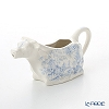 Burleigh Pottery Fortnum & Mason Limited Collection Blue Celeste Cow Creamer 150 ml / 0.25 pt