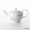 Burleigh Fortnum & Mason Limited Collaboration Blue Celeste Tea Pot S/S