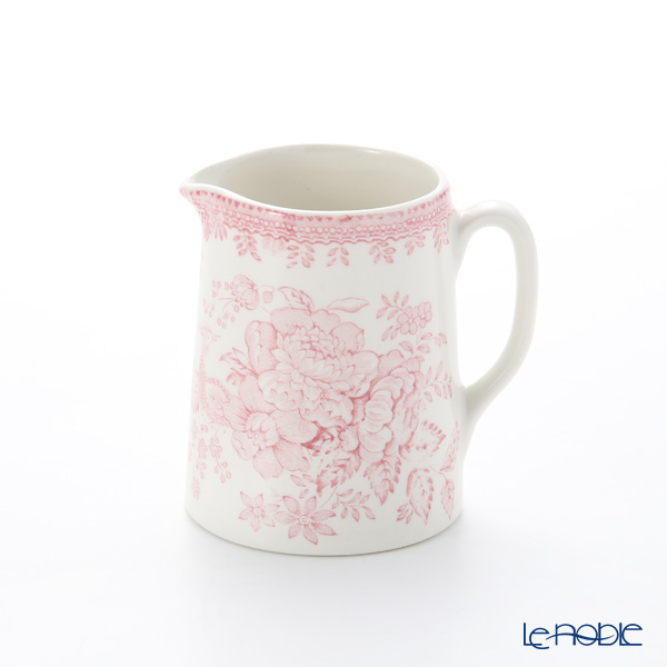 Burleigh Pottery Pink Asiatic Pheasants Mini Tankard Jug 160 ml / 0.25 pt