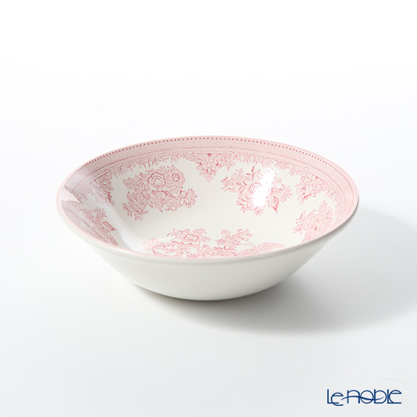Burleigh Pottery 'Pink Asiatic Pheasants' Cereal Bowl 16cm