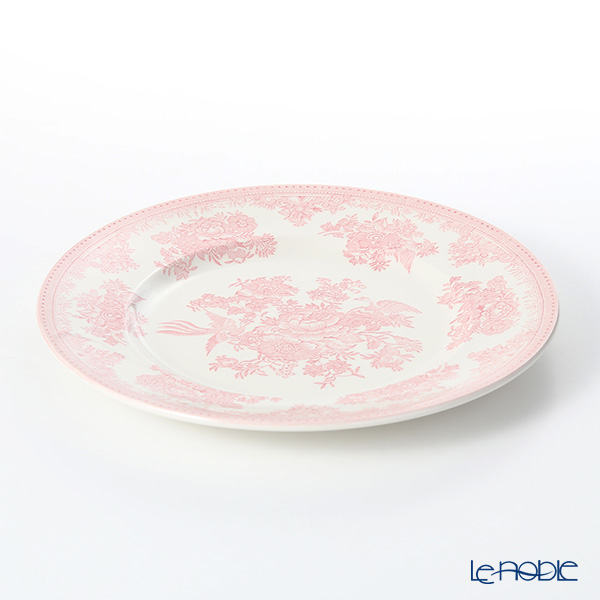 Burleigh Pottery 'Pink Asiatic Pheasants' Plate 25.5cm