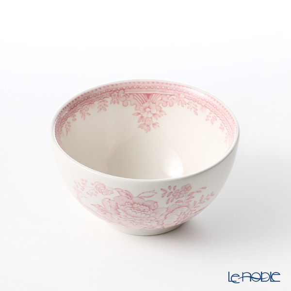 Burleigh Pottery 'Pink Asiatic Pheasants' Sugar Bowl 9.5cm (S)