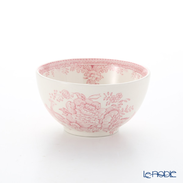Burleigh Pottery 'Pink Asiatic Pheasants' Sugar Bowl 9.5cm (S)