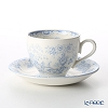 Burleigh Fortnum & Mason Limited Collaboration Blue Celeste Tea Cup & Saucer