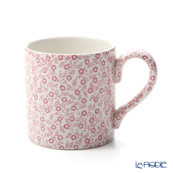 Burleigh Pottery 'Pink Felicity' Mag 284ml
