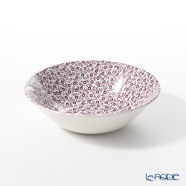 Burleigh Pottery Mulberry Felicity Cereal Bowl 16 cm