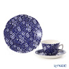 Burleigh Pottery Blue Calico