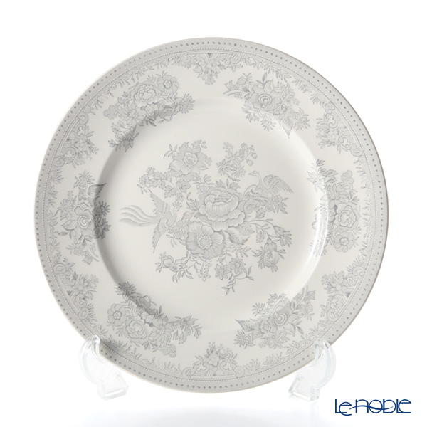 Burleigh Pottery 'Dove Grey Asiatic Pheasants' Plate 21.5cm