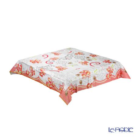 トーキングテーブルズ テーブルカバー 140×140 1枚ピンクフラワー PRL-TCOVER