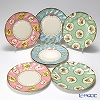 Talking Tables 'Frills and Frosting' [Paper] Plate 17cm (set of 12 / 3 patterns)