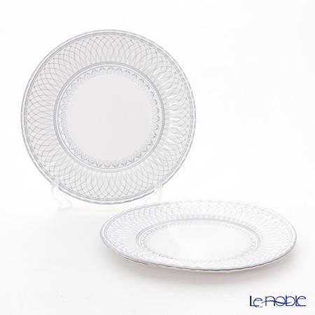 Talking Tables トーキングテーブルズ 紙皿 27cm 1柄8枚入 シルバー PPS-PLATE-LRG