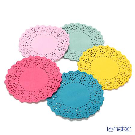Talking Tables トーキングテーブルズ レースペーパー 11cm 100枚 フローラルフィエスタ FST-DOILY 5色 各20枚