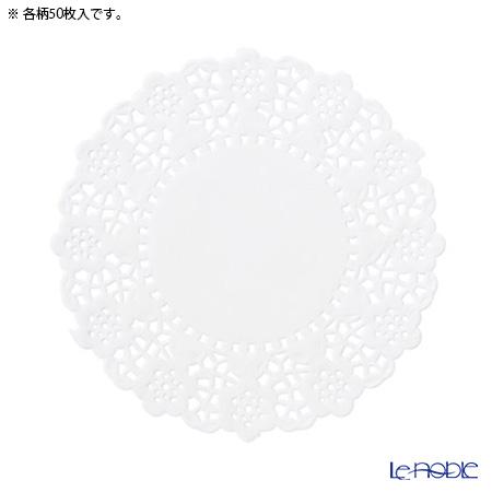 トーキングテーブルズ ミニ★レースペーパー 11cmホワイトローズ BLOS-DOILY 11cm 100枚入り(50枚ずつ)