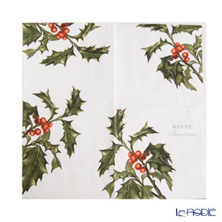 トーキングテーブルズ 紙ナプキン 20枚入ボタニカルクリスマス 33×33cm BC-NAPKIN