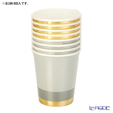 トーキングテーブルズ 紙コップ 8個入メタリック MET-CUP 2柄各4個