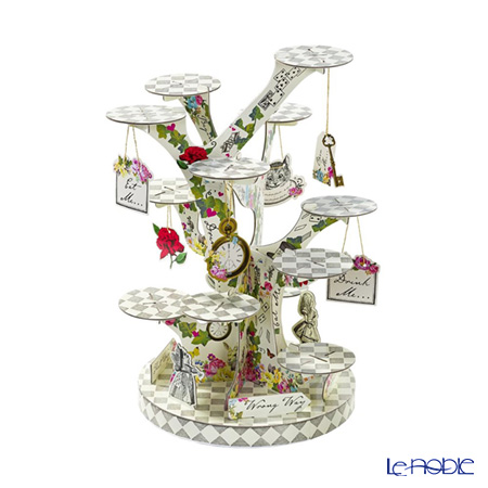 Talking Tables Truly Alice Tree Shaped Cake Stand TSALICE-TREATSTAND