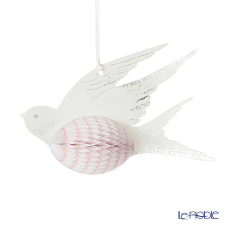 Talking Tables トーキングテーブルズ ハニカムボール 3個入小鳥(ホワイト) DD-BIRD-WHT