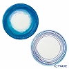 Talking Tables 'Coastal' [Paper] Plate 23cm (set of 12 / 2 patterns)