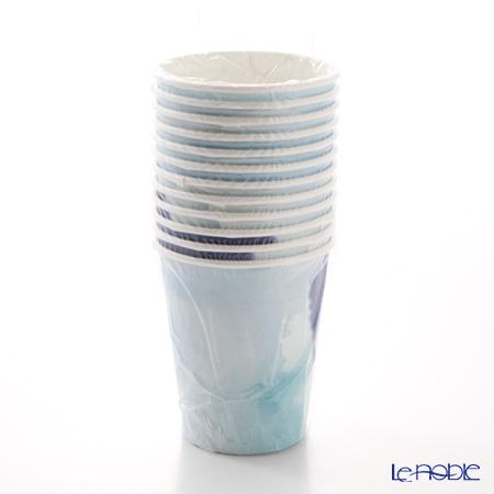 トーキングテーブルズ 紙コップ 12個入コーストブルー COAST-CUP 2種各6個