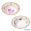 Talking tables paper plate bowl-12 pieces Flower 20 cm TS6-BOWL 2 print 6 copies of each