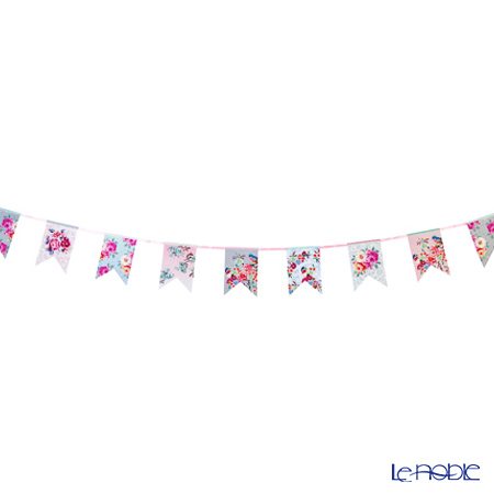 Talking Tables Truly Romantic Floral Bunting (16 pennants on 4m of length) TSROM-BUNTING