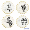 Talking Tables Truly Alice Paper Plates (Set of 12) TSALICE-MEDPLATE