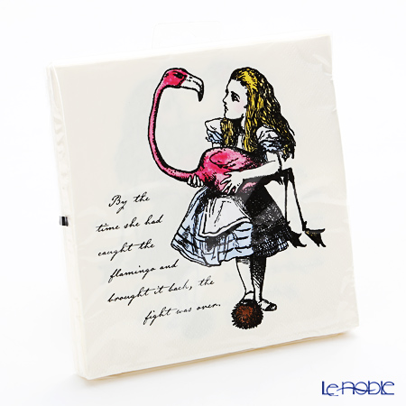 Talking Tables Truly Alice Napkins 33 x 33 cm (20pcs) TSALICE-NAPKIN
