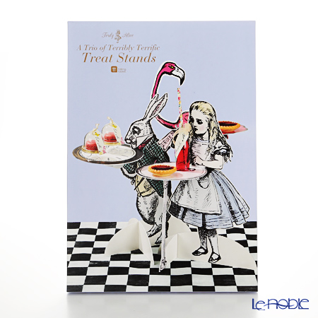 Talking Tables トーキングテーブルズ ケーキスタンドアリス キャラクター型 TSALICE-TRIOSTANDS