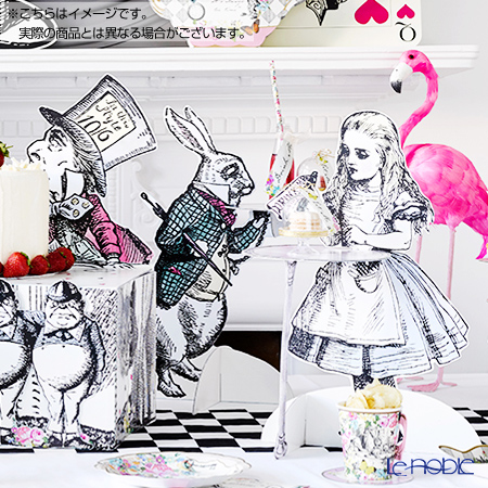 Talking Tables 'Truly Alice - Treat Stand' [Paper] Cup Cake Stand (set of 3 characters)