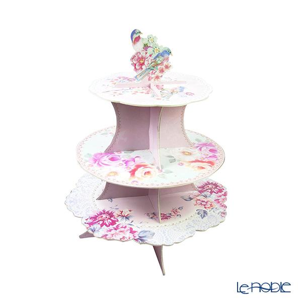 Talking Tables トーキングテーブルズ ケーキスタンド 3段 ロマンティックフラワー TSROM-CAKESTAND