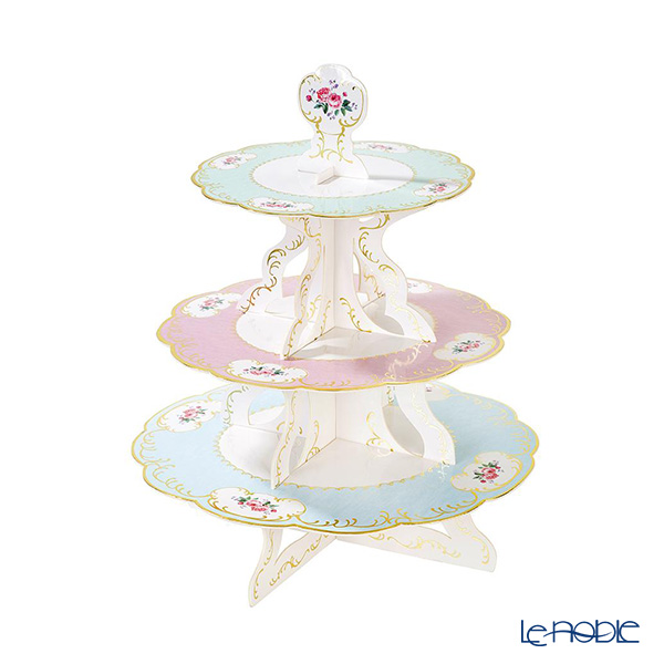 Talking Tables 'Truly Chintz' [Paper] 3 Tier Cake Stand H37cm