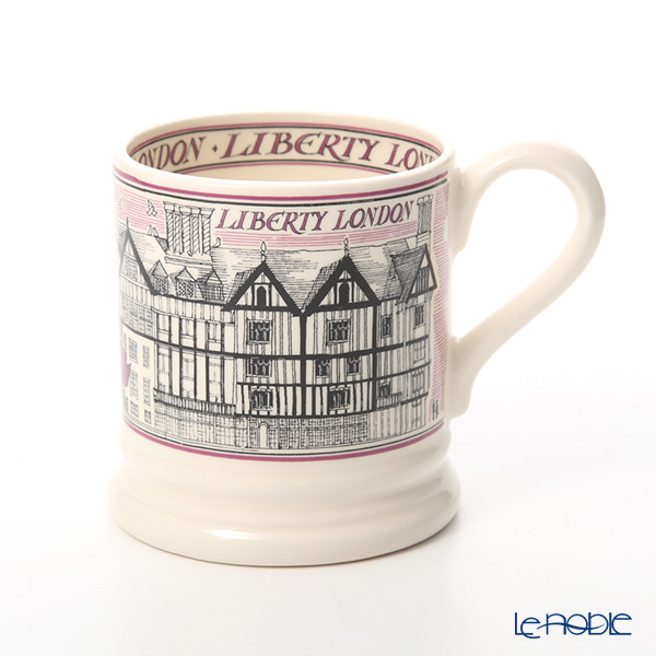 Emma Bridgewater Liberty Building 1/2 Pint Mug 340 cc [Exclusively for Liverty London]