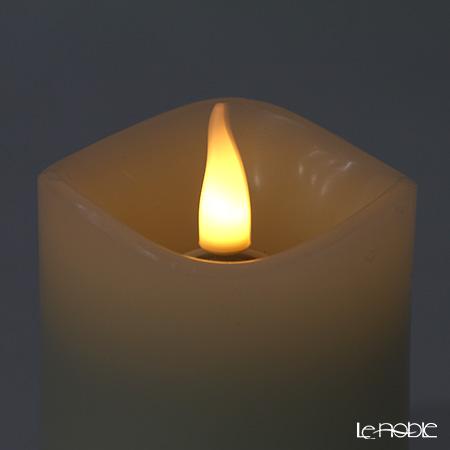 LEDキャンドル Smart Flame スマートフレイム SF110ピラーキャンドルM 電池式 リモコン対応可能(※リモコンは別売り※)