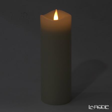 LEDキャンドル Smart Flame スマートフレイム SF114ピラーキャンドルLL 電池式 リモコン対応可能(※リモコンは別売り※)