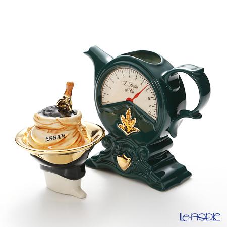 Teapottery Scales Teapot, green M