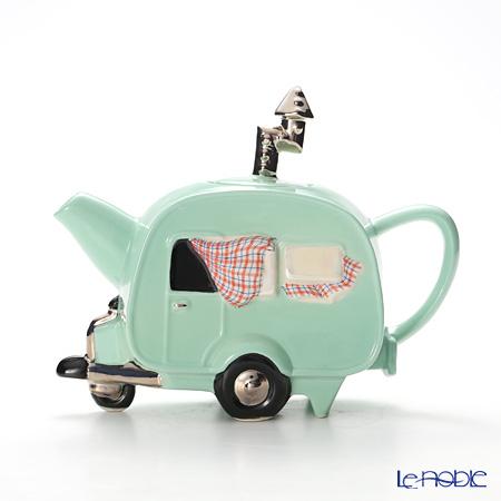 ティーポッタリー Teapottery キャラバン(グリーン) M