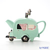 Teapottery 'Caravan Car' Green Tea Pot (M)