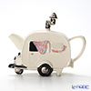 Teapottery 'Caravan Car' Cream Tea Pot (M)
