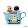 Teapottery Radio Teapot, blue