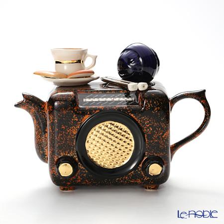 ティーポッタリー Teapotteryラジオ(ブラウン) M