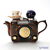 Teapottery Radio Teapot, brown