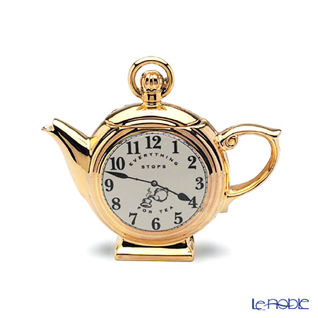 ティーポッタリー Teapotteryポケットウォッチ(ゴールド) S