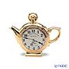 Teapottery Pocket Watch Teapot, gold