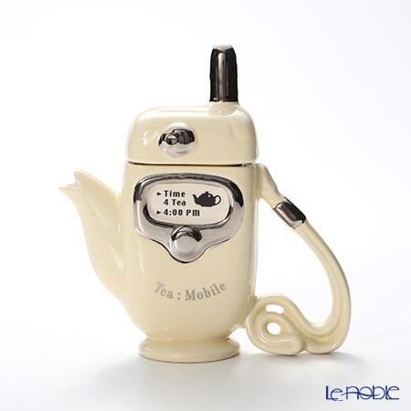 ティーポッタリー Teapottery モバイルフォン(クリーム) 18×17