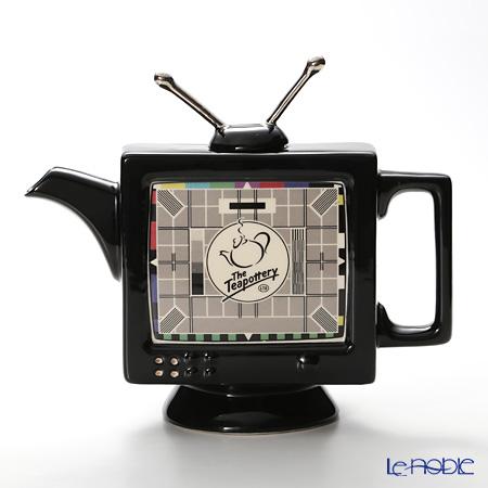 ティーポッタリー Teapottery テレビ(ブラック) M
