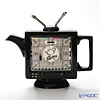 Teapottery TV Teapot, black M