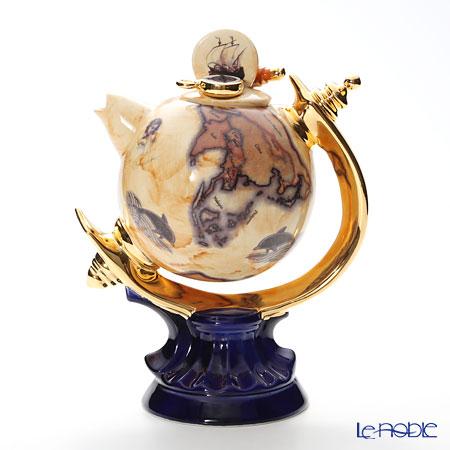 ティーポッタリー Teapottery地球儀 L