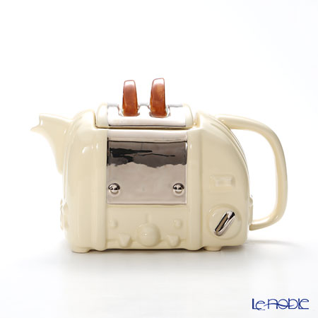 ティーポッタリー Teapottery レトロトースター(クリーム) M